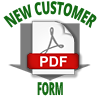 New Customer Form Download